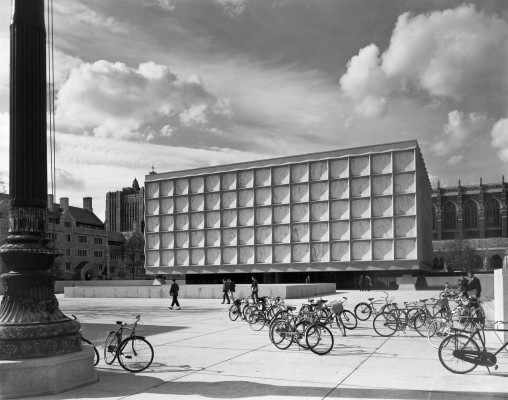 Beinecke Library, Yale University, Skidmore, Owings & Merrill,  New Haven, CT