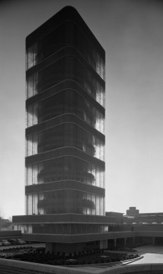 Johnson Wax Tower, Frank Lloyd Wright, Racine, WI