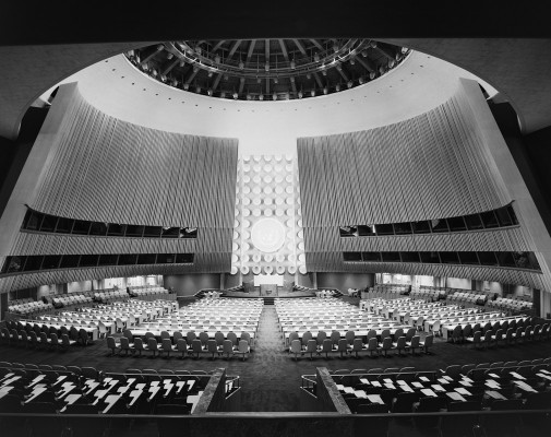 United Nations General Assembly, International Team of Architects Led by Wallace K. Harrison, New York, NY